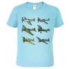 Tričko s letadlem - Letadla