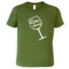 Dárky s vínem - tričko pro vinaře