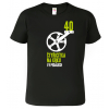 Pánské tričko pro cyklistu - Čtyřicítka na krku