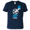 Vtipné tričko ke 60. narozeninám pro cyklistu
