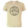 Tričko pro rybáře - Vášnivý rybář (černý potisk)