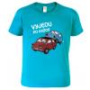 Vtipné tričko - Vyjedu po každý