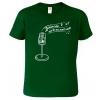 Pánské tričko pro zpěváka - Zpívám rád