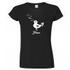 Dámské tričko pro zpěvačku - Pěnice
