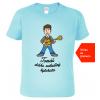 Tričko s kytarou