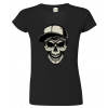 Dámské tričko s lebkou - Kšiltovka