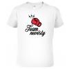 Vtipné svatební tričko - Team ženicha