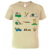 Tričko pro chalupáře - Symboly venkova (SLEVA)