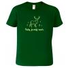 tričko pro myslivce s jelenem