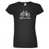 Vtipné tričko pro cyklistku