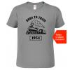 Tričko s lokomotivou