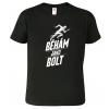 Pánské běžecké tričko - Běhám jako Bolt