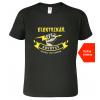 Tričko elektrikář