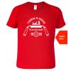 Tričko k narozeninám pro truhláře - Truhlářem se nestaneš