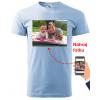 Tričko s vlastní fotkou