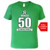 narozeninová trička pro fotbalistu