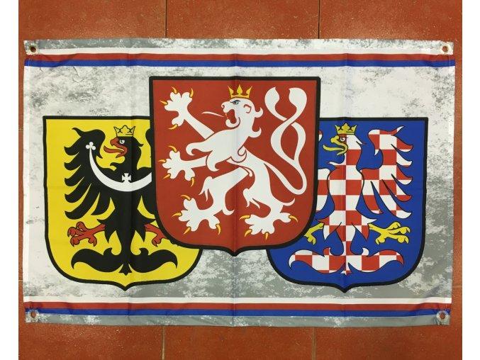 Vlajka - ČR znaky