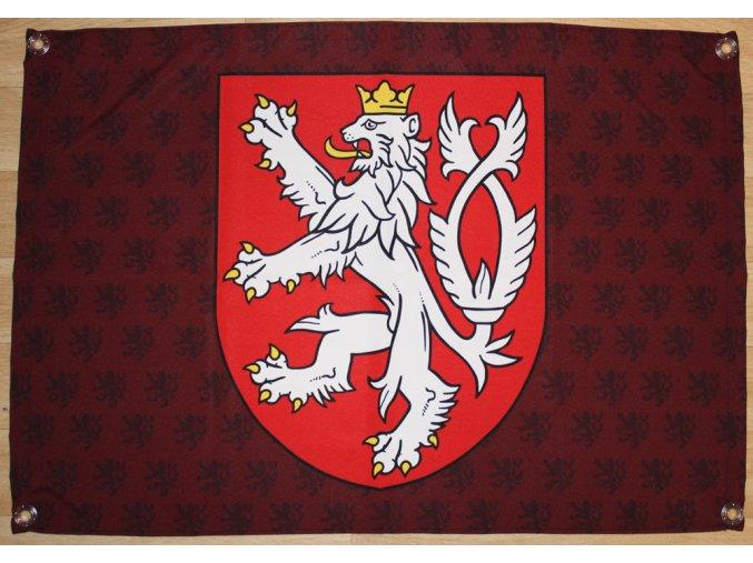 Vlajka - Český lev (znak)