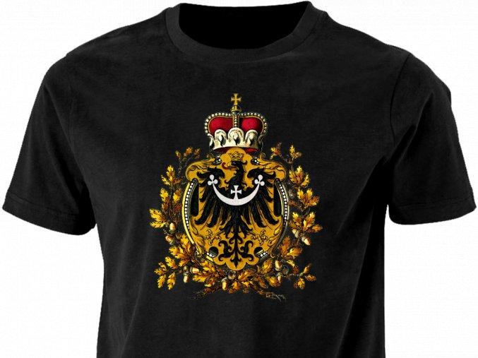 Tričko - Slezská orlice s korunou