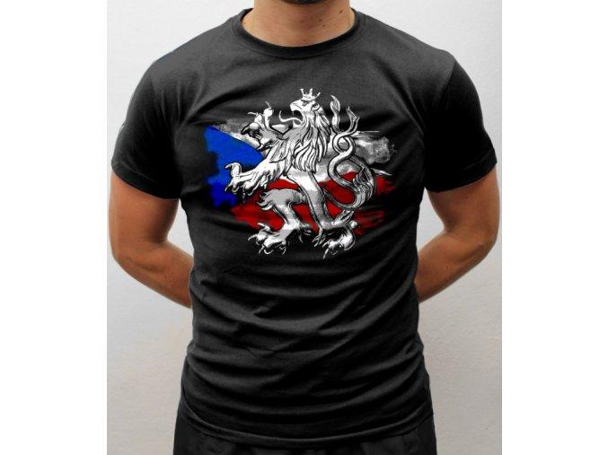 Tričko - Český lev(3D)