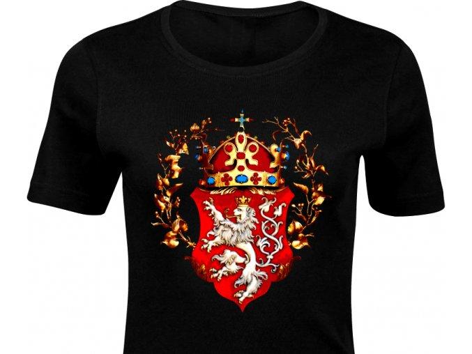 Dámské triko - Koruna Čechy (D)