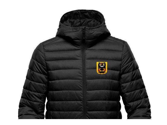 Zimní (prošívaná) bunda - Slezská orlice výšivka