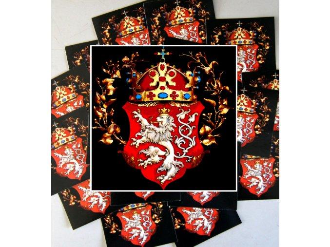 Nálepky - Bohemia - 10ks