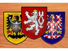 Nálepka - ČR znaky