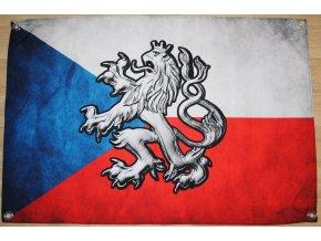 Vlajka - Vlajka - Lev (3D)
