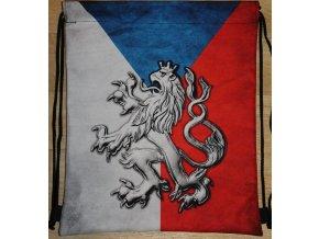 Vak - Lev s vlajkou (3D)