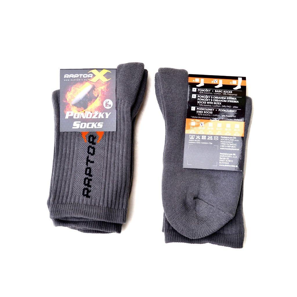 Ponožky do bruslí RAPTOR-X Siltex