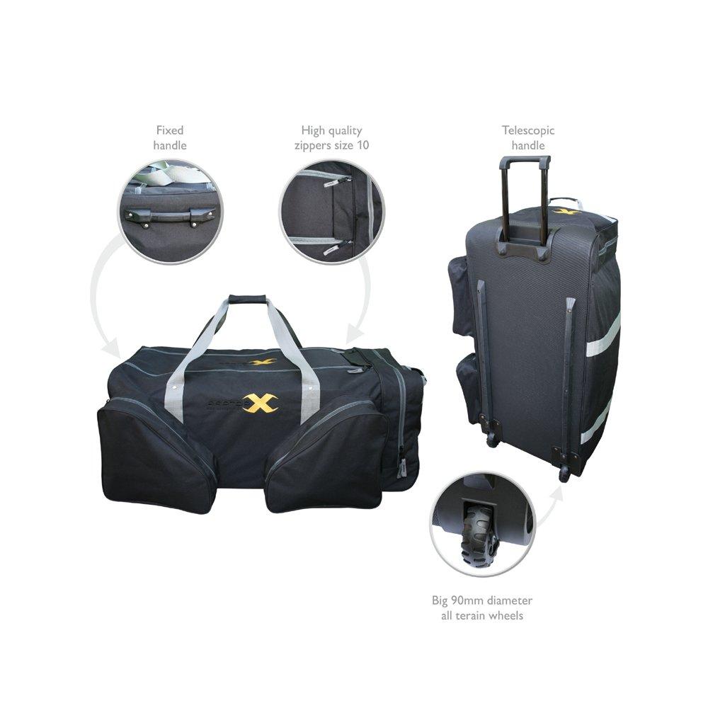 Hokejová taška na kolečkách RAPTOR-X De Luxe Wheel Bag