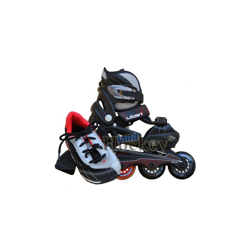 Dětské kolečkové brusle U-Kan Ride Blade and Walk