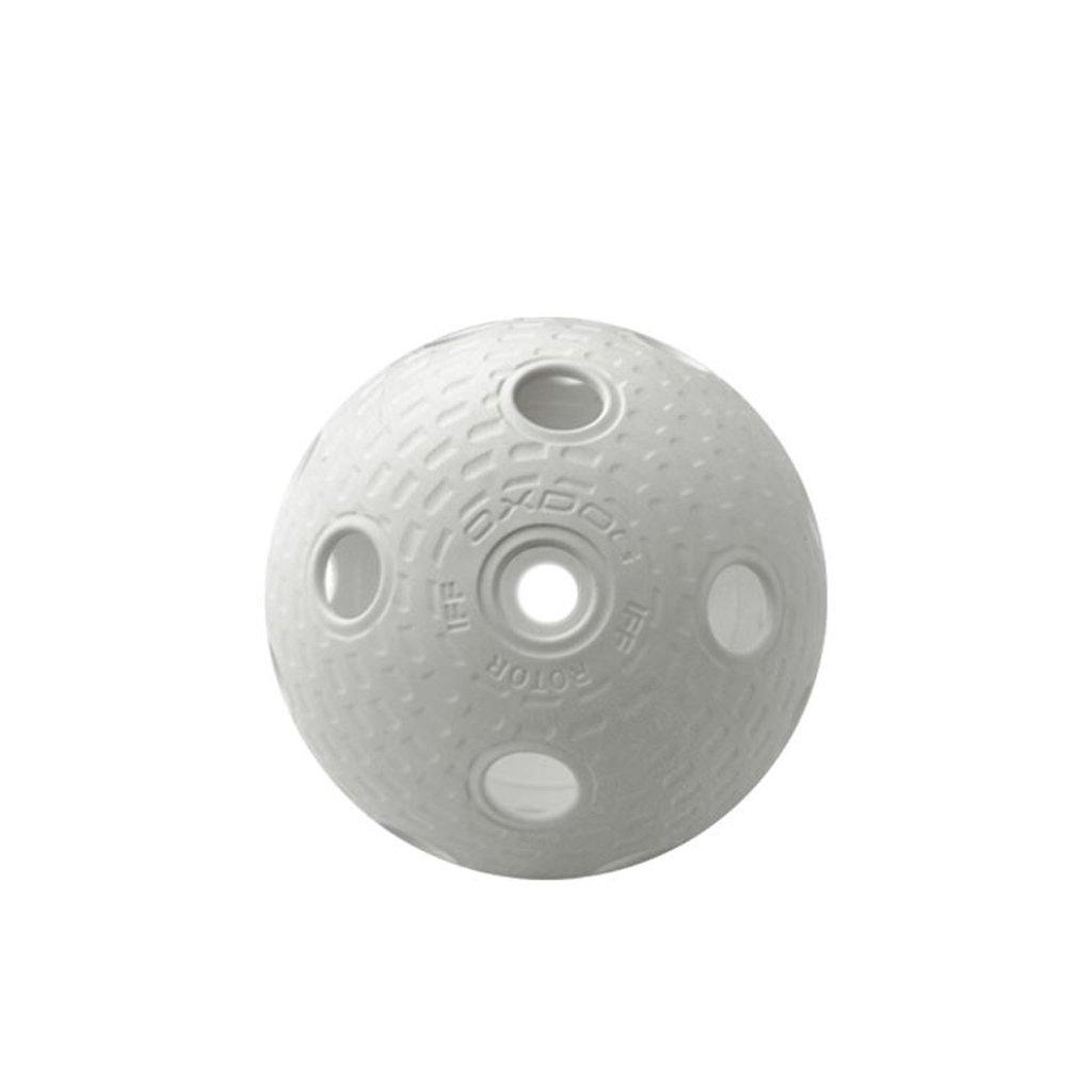 Florbalový balonek OXDOG Rotor bílý