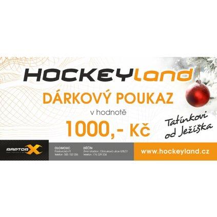 Dárkový poukaz pro nákup na Hockeyland.cz