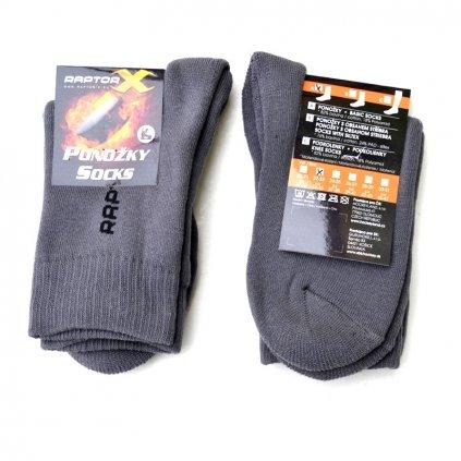 Ponožky do bruslí RAPTOR-X Basic