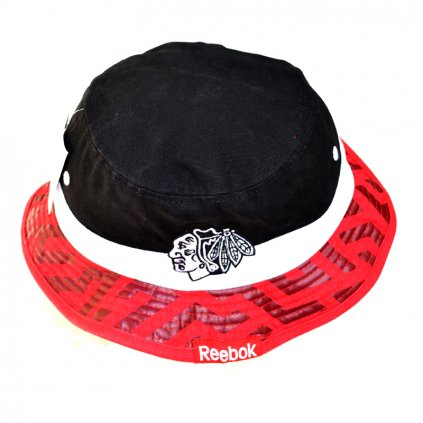 Klobouk Reebok Geo Bucket Hat Chicago Blackhawks
