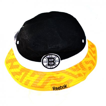Klobouk Reebok Geo Bucket Hat Boston Bruins