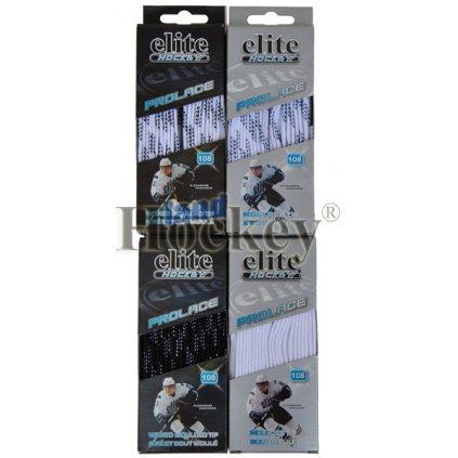Tkaničky do hokejových bruslí Elite hockey bavlna