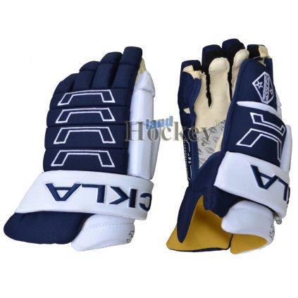 Hokejové rukavice TACKLA Advantage 951 navy bílé