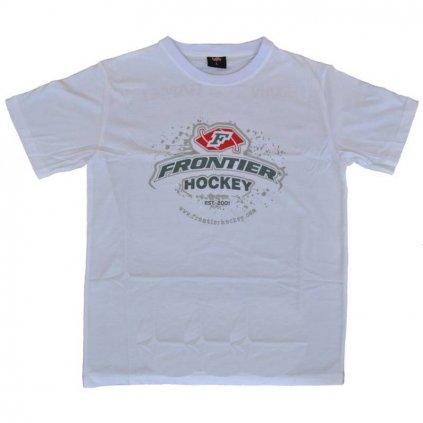 Triko Frontier Hockey bílé