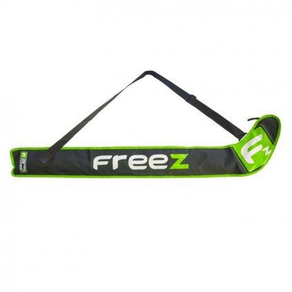 Florbalová taška Freez Z-80 černo-zelená
