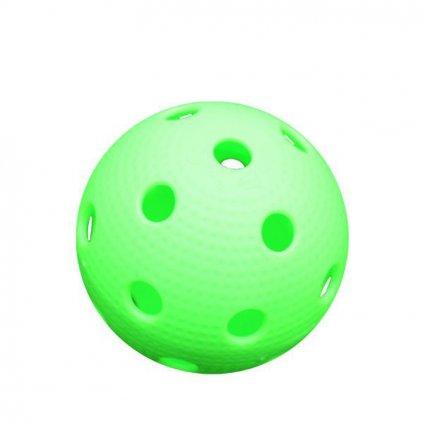 Florbalový balonek Canadien Precision Pro League neon zelený