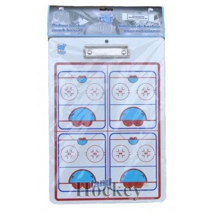 Trenérská tabule Blue Sport De luxe Clipboard brankář 24cm x 35cm
