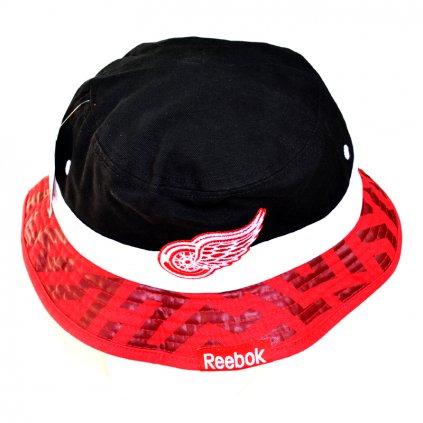 Klobouk Reebok Geo Bucket Hat Detroit Red Wings