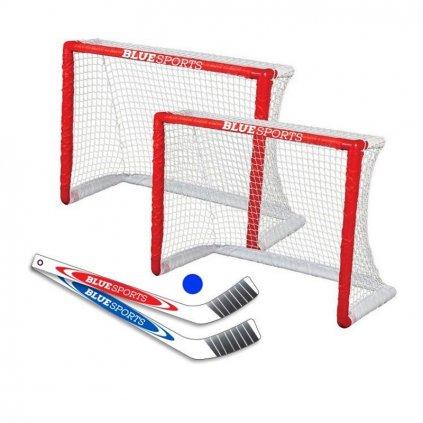 Mini Hockey Set Blue Sports
