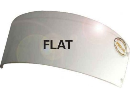 Náhradní štítek Uniplexi Flat Junior Junior