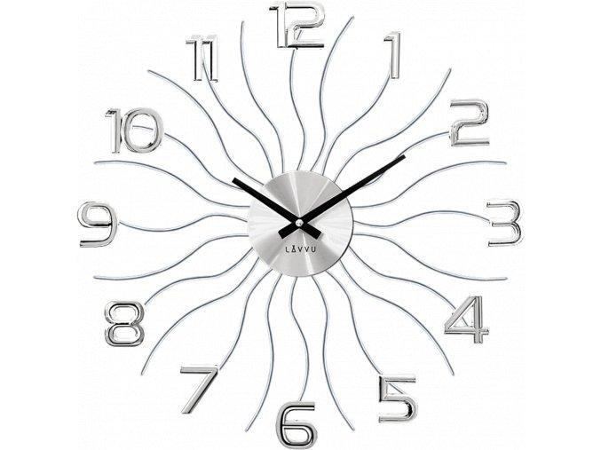 Stříbrné hodiny LAVVU SUN