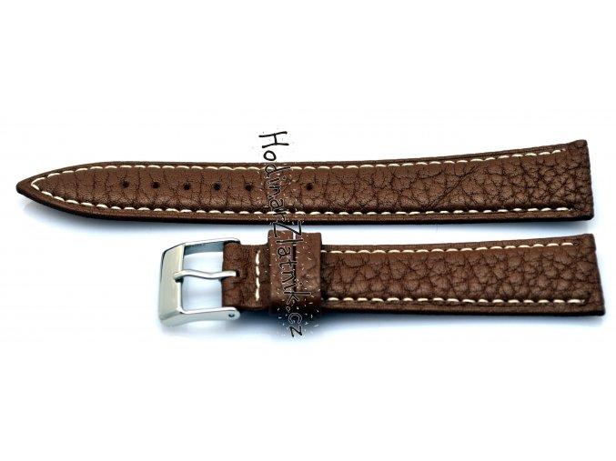 Kožený řemínek hnědý 19617.03.18 18