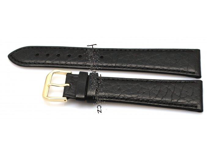 Kožený řemínek černý 19051.01.22 xl 12